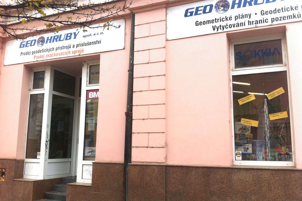GEO Krubý prodejna a kancelář Plzeň